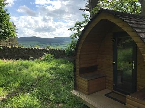 Off-grid woodland hide-away - Westhills Pod