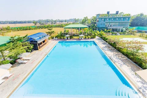 Sobuz Pata a well decorated and luxury resort in Sreepur,Gazipur.With all resort facilities.