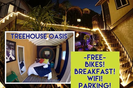 Treehouse Oasis at Venice Beach!! - Venice