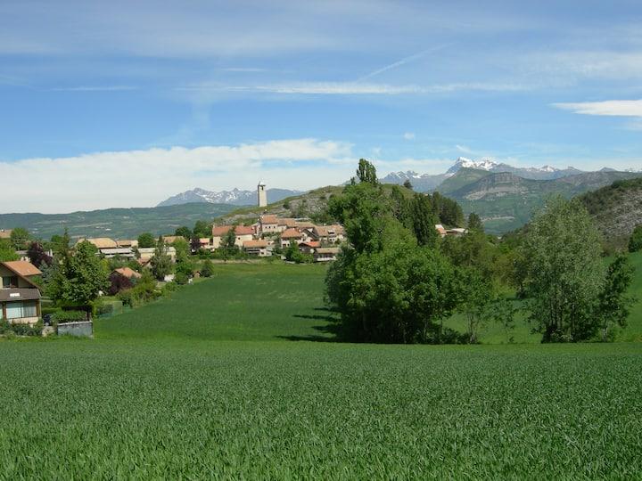Maison tranquille pour vacances dans les Alpes