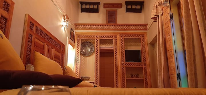 Lovely And Cheap MoroccanTriple Room