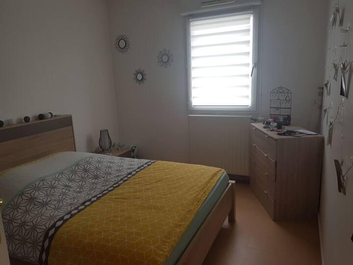 Chambre à Saloüel - Amiens Sud