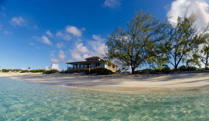 Timeless Home On Private Island With 3 Beaches.