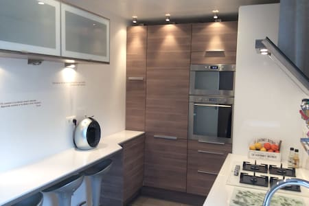 DELUXE room 3 new flat near Paris - Gennevilliers - Appartement