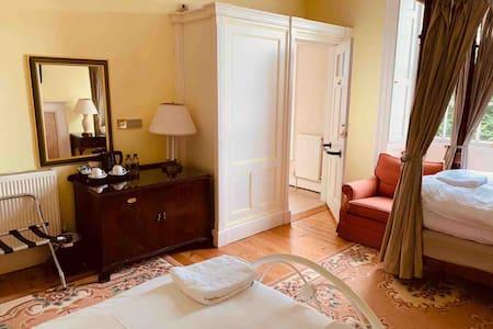 Room 2 in striking Regency house, Nr Usk