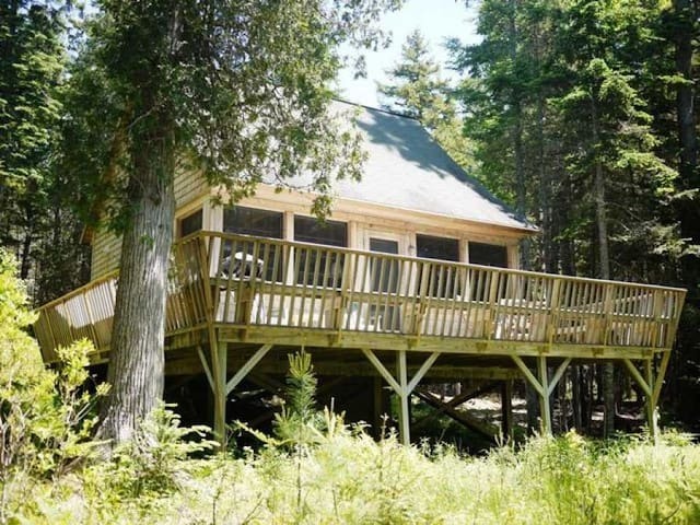 Seal Rock - Crafted Waterfront Cabin Near Acadia