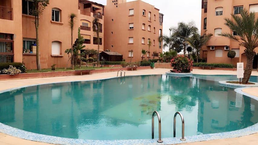 Appartement au bord de la mer - Mohammedia - Apartment
