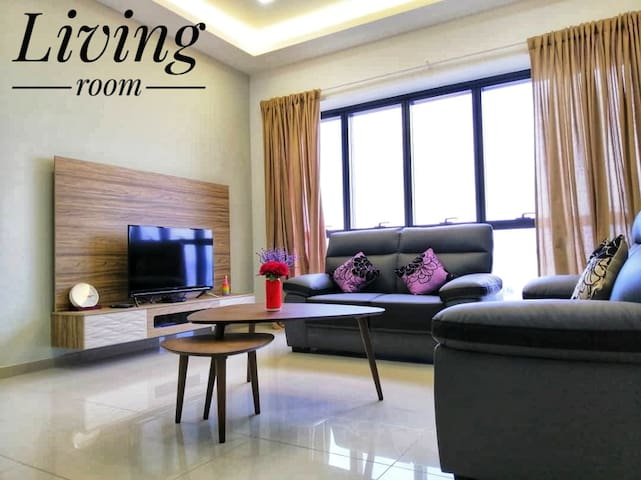 2~5pax Comfy suite Icon city~8min to Sunway city