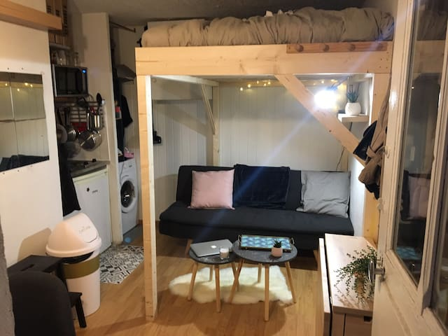 Studio dans le 20e arrondissement