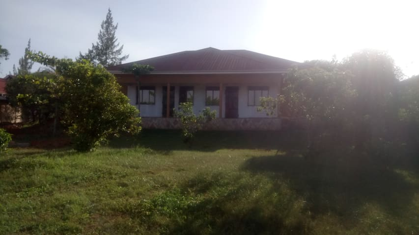 Home in Entebbe suburbs, with a Quiet environment