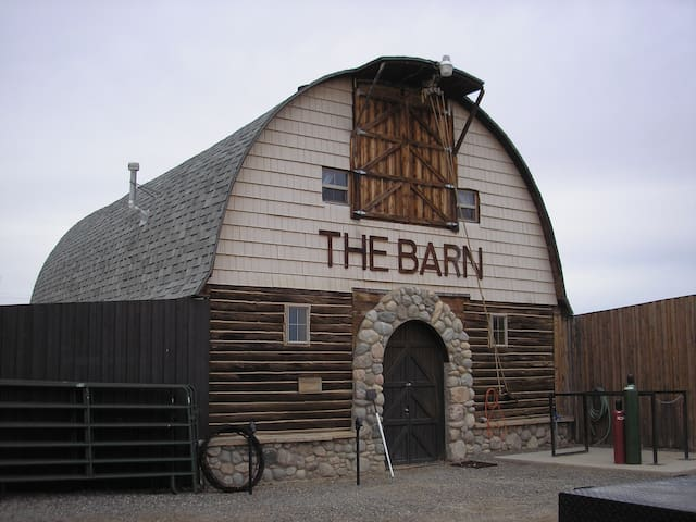 The Loft of the old barn at the Rafter JB