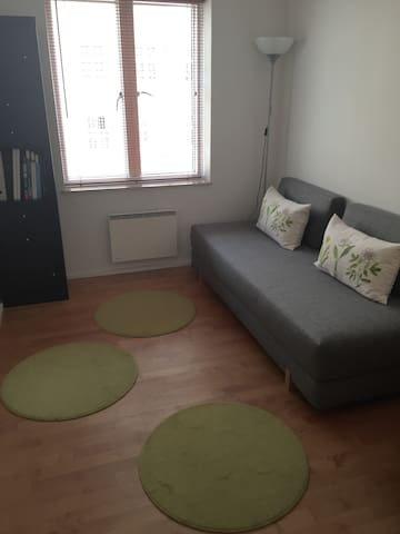 Cozy room + elevator + close to city center - Copenhaguen - Pis