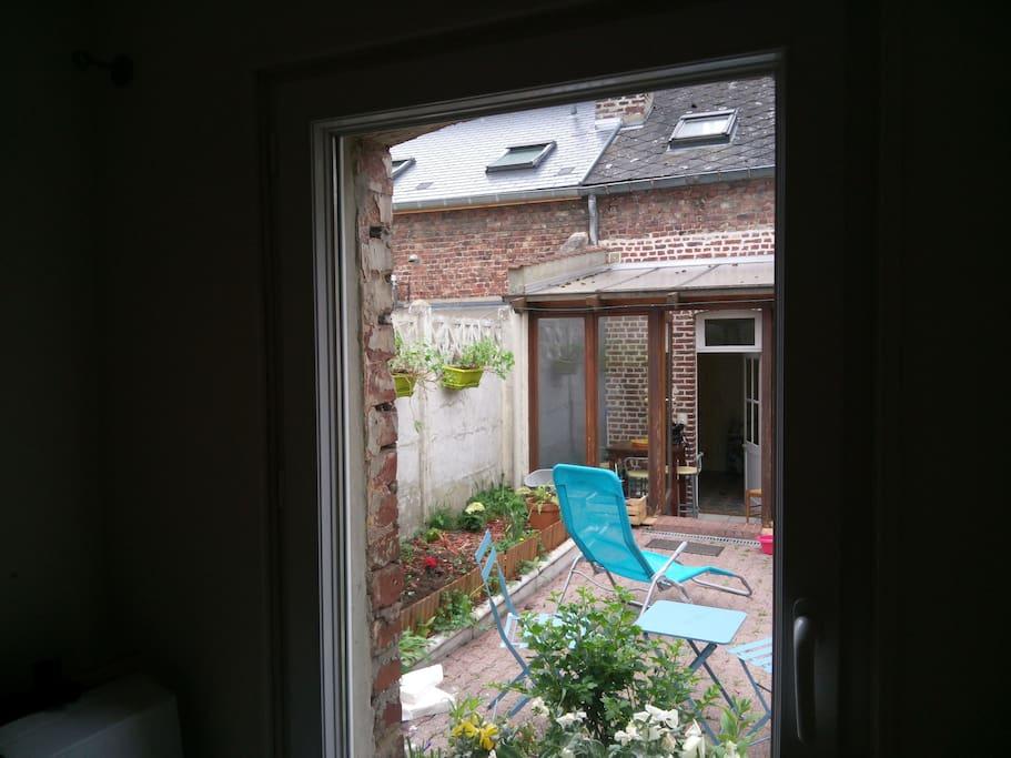 Vue de l'intérieur du logement
