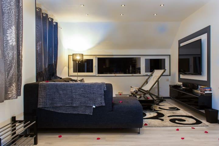 "Appartement ""Ferme Simon"" ****  jacuzzi 4p+1baby - Stavelot - Apartment"