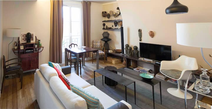 Lovely and cosy apartment#Butte aux Cailles