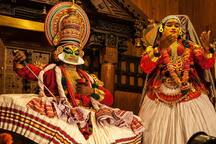 The Traditional Kerala Kathakali Dance  Festival in the month of April