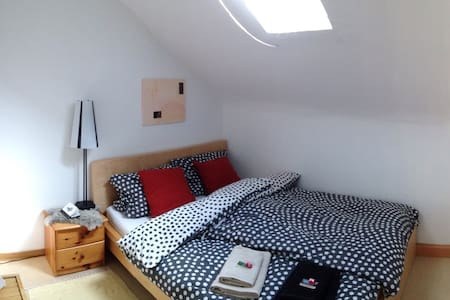 Private, cozy, bright room for 2 in a quiet area - 路德维希堡(Ludwigsburg) - 公寓