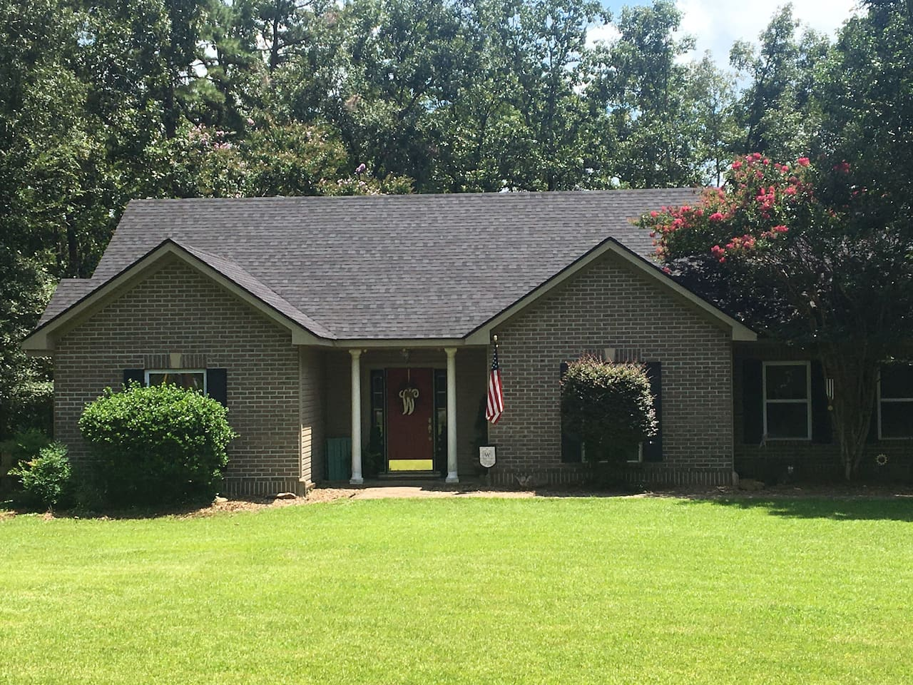 Four bedroom 2 bath home in gated resort community, perfect for a family reunion or adult get away!