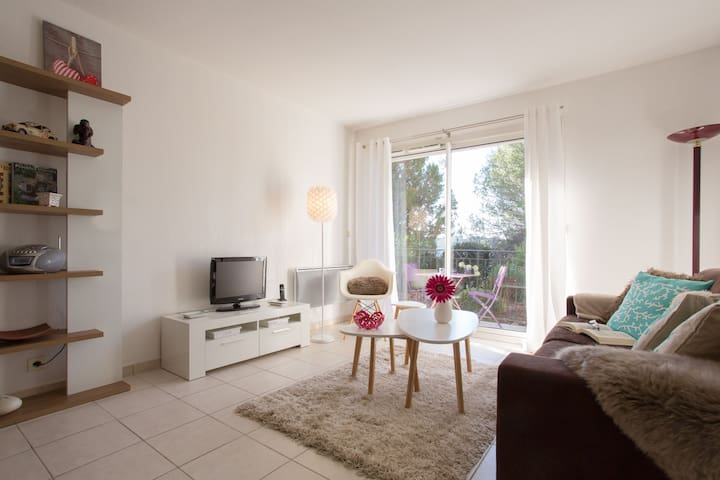 1 bed Apartment 15 mins from Cannes - Mougins - Wohnung