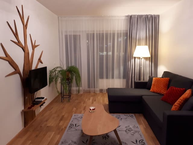 City center apartment with large balcony