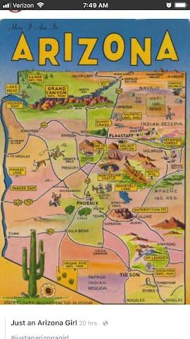 Arizona Guidebook