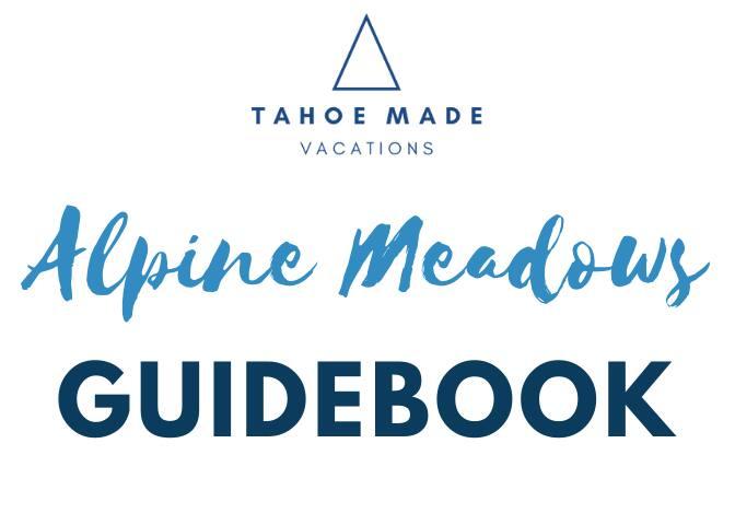 Tahoe Made's guidebook