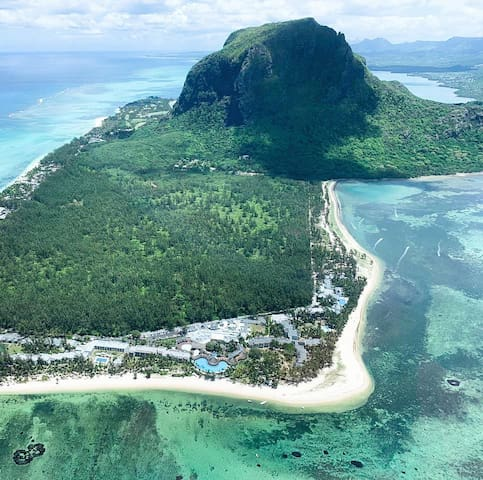Best places of Mauritius island