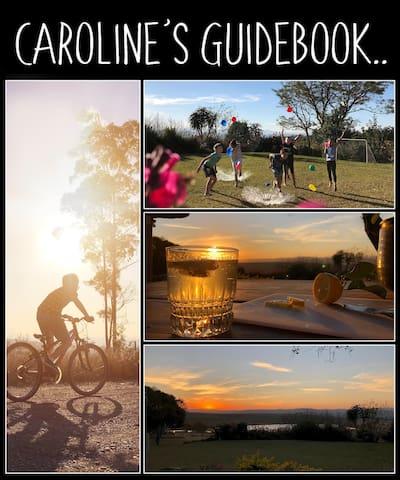 Caroline's guidebook