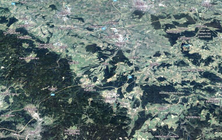 Schmiedefeld am Rennsteig & Umgebung