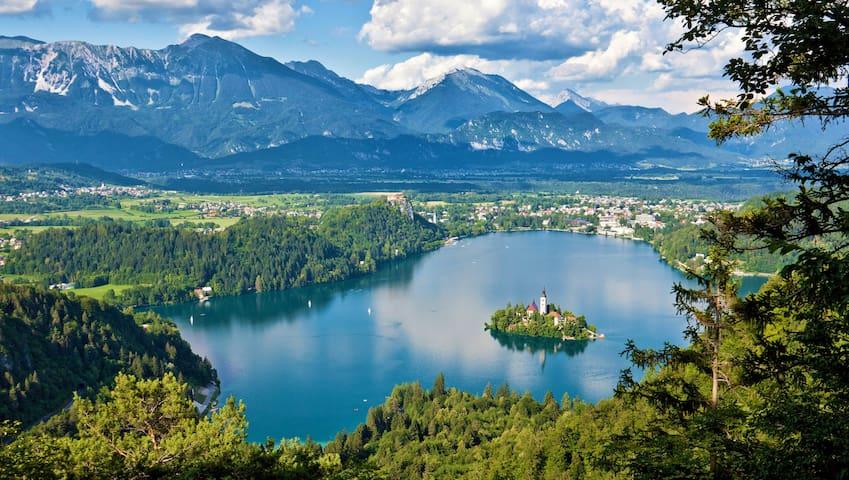 Guidebook for the Bled area and NW Slovenia