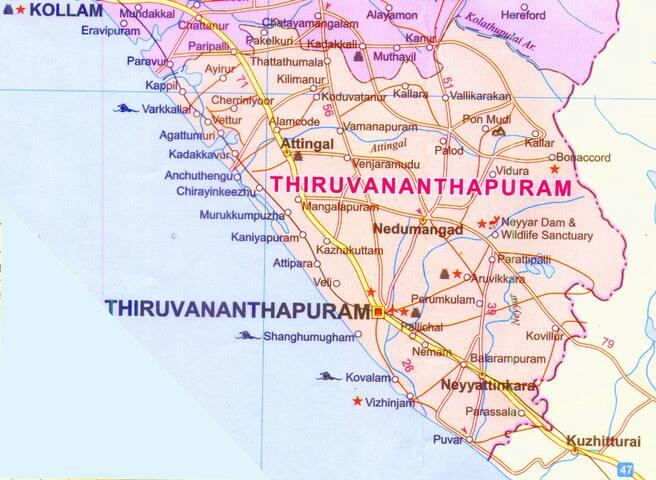 Guidebook for Trivandrum City
