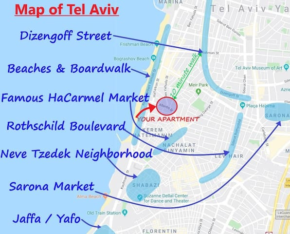 Adi's food guide for Tel Aviv