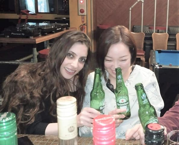 Bar guide in Naha