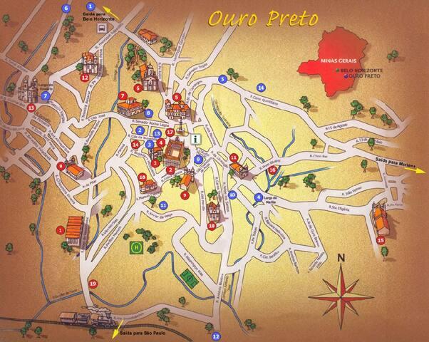 Guia de Gardenia para Ouro Preto - MG