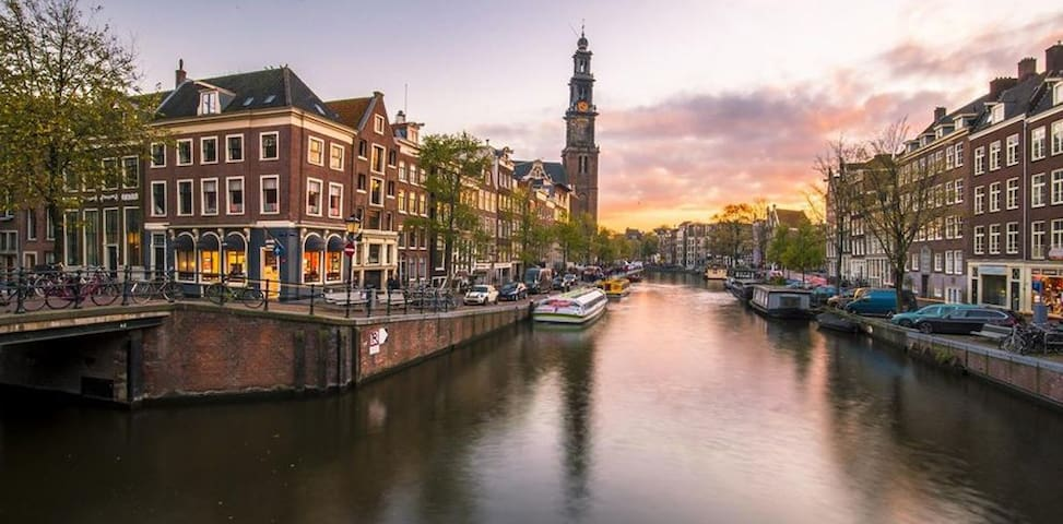 Patrick's guidebook for Amsterdam