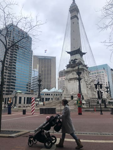 Chris's Downtown Indy guidebook