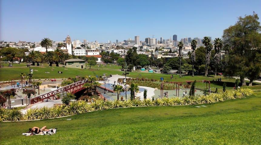 San Francisco - Mission Dolores Neighborhood Guidebook