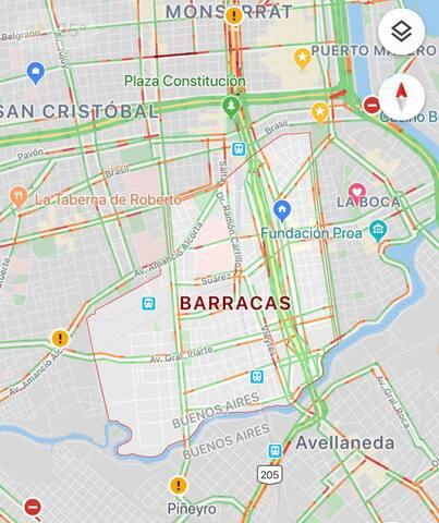 Barrio de Barracas