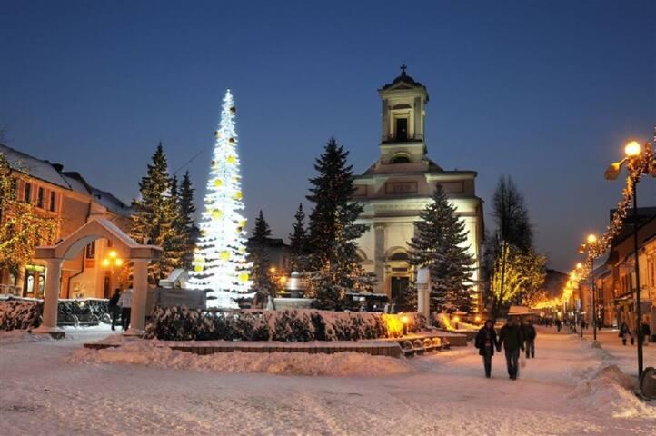 Winter in Poprad Tatry Guide