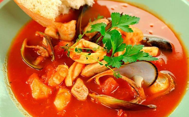 Gastronomía en Holbox