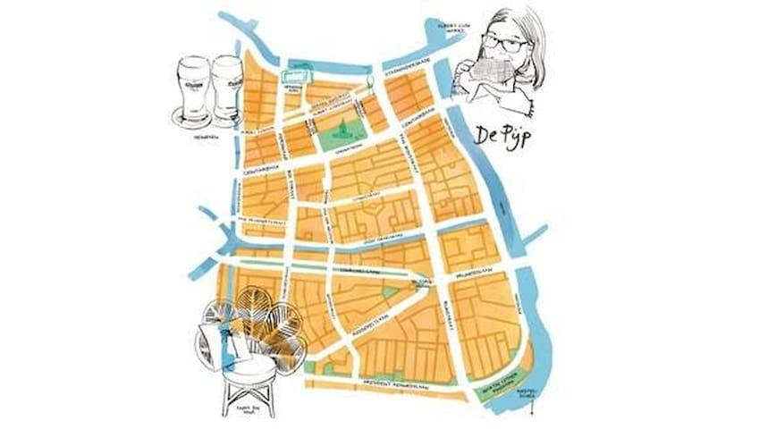 Marnix' Guide for De Pijp!