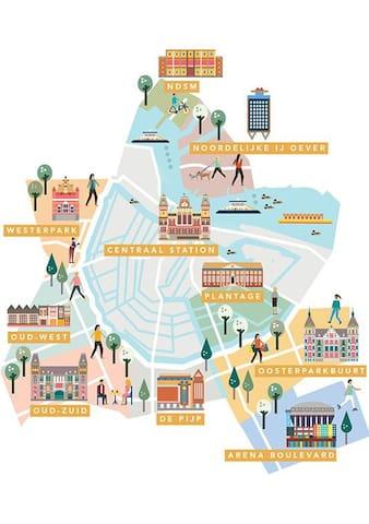 Guidebook of Amsterdam