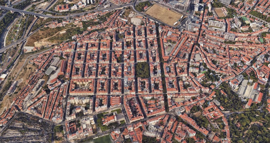 Campo de Ourique / Lisboa