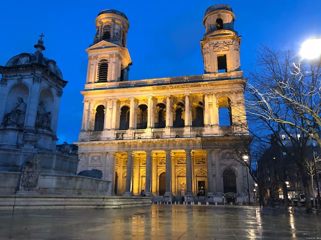 My best addresses around Saint Sulpice Church