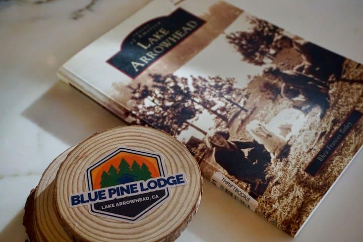 The Blue Pine Lodge, Lake Arrowhead Guide