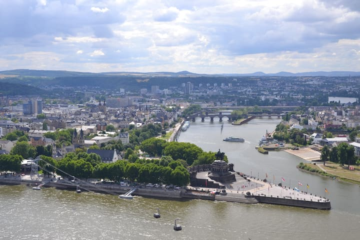 Guidebook for Koblenz and surrounding