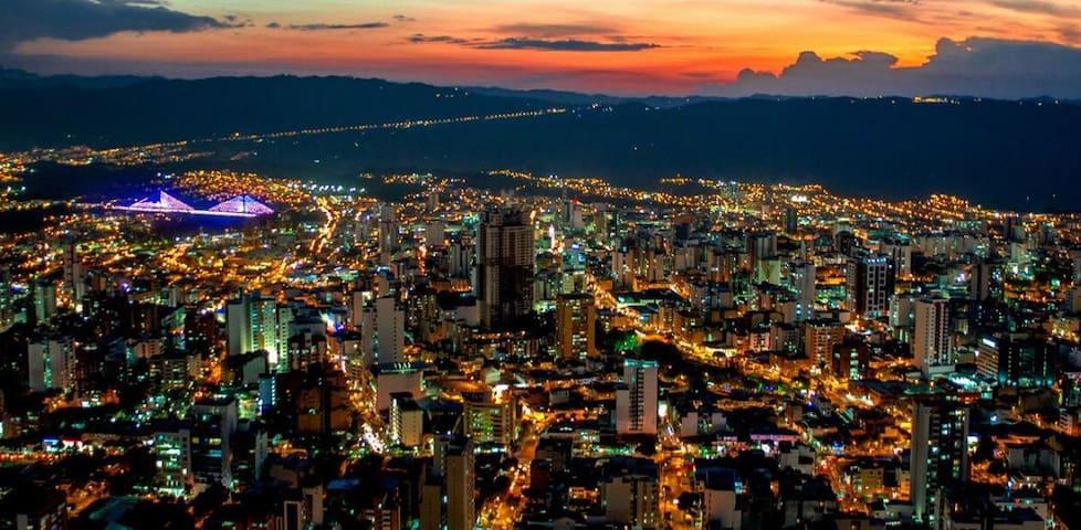 De visita por Bucaramanga