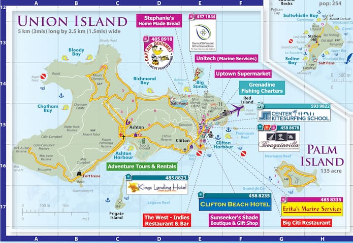 Union Island - Guidebook