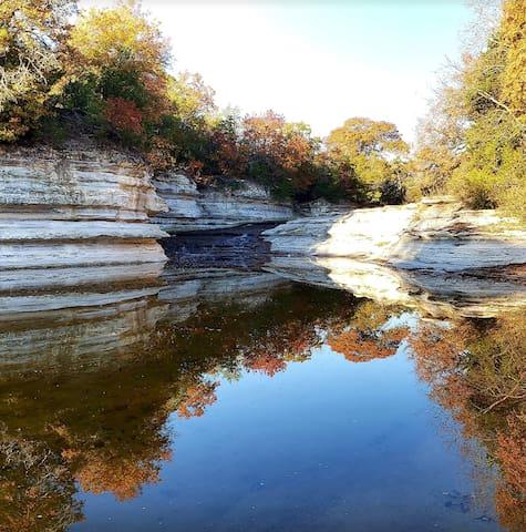 Rocky Falls guidebook