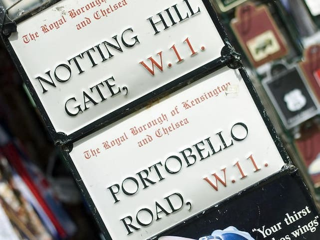 Guidebook  for Notting Hill and Wider London
